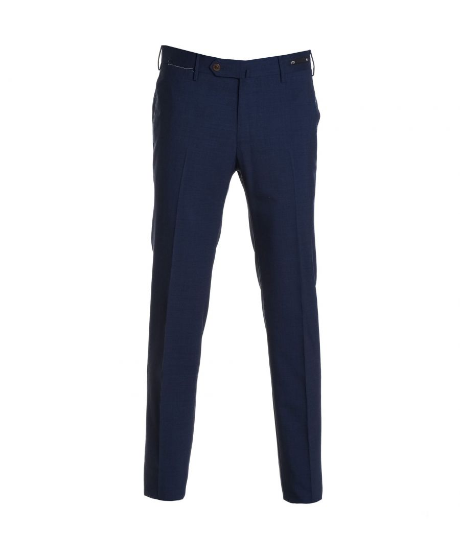 Image for PT01 MEN'S DS01Z00CLPMZ650340 BLUE POLYESTER PANTS