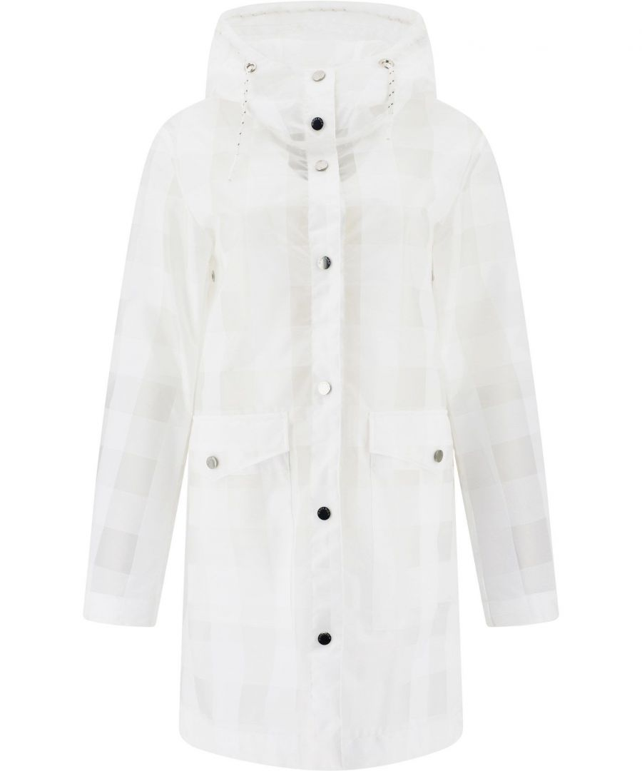 Image for WOOLRICH WOMEN'S WWOU0212FRUT20738649 WHITE POLYURETHANE COAT