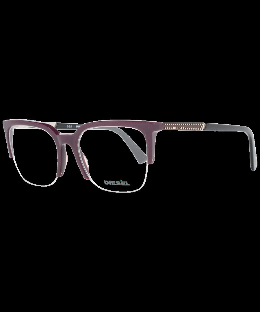 Image for Diesel Optical Frame DL5261 069 51 Women Burgundy