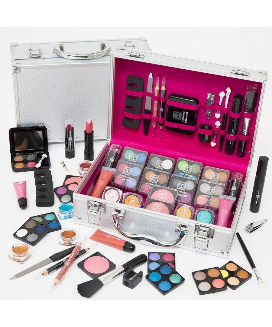 Image for Envie Make Up Vanity Case 80 Piece Silver