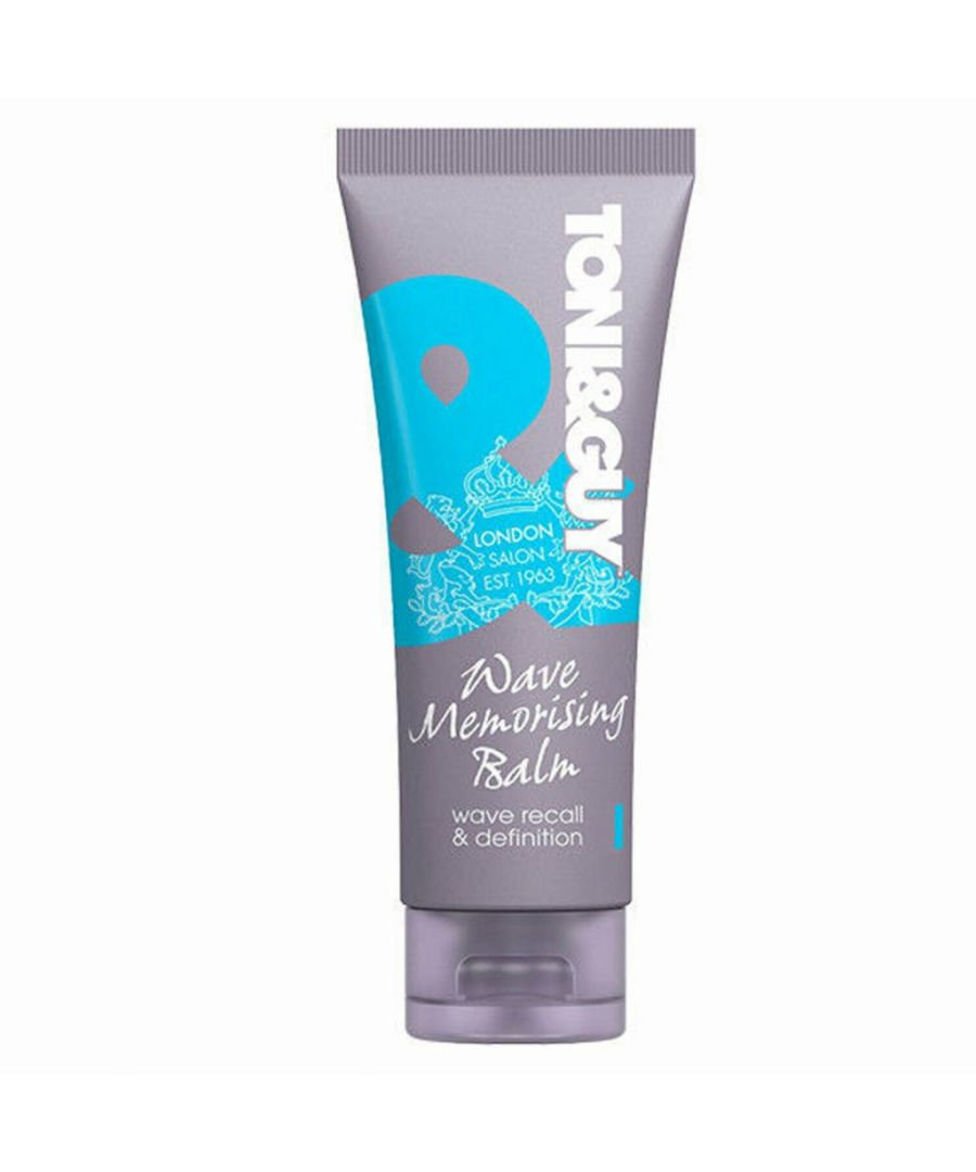 Image for Toni & Guy Classic Wave Memoriser Wave Recall & Definition Balm 100 ml