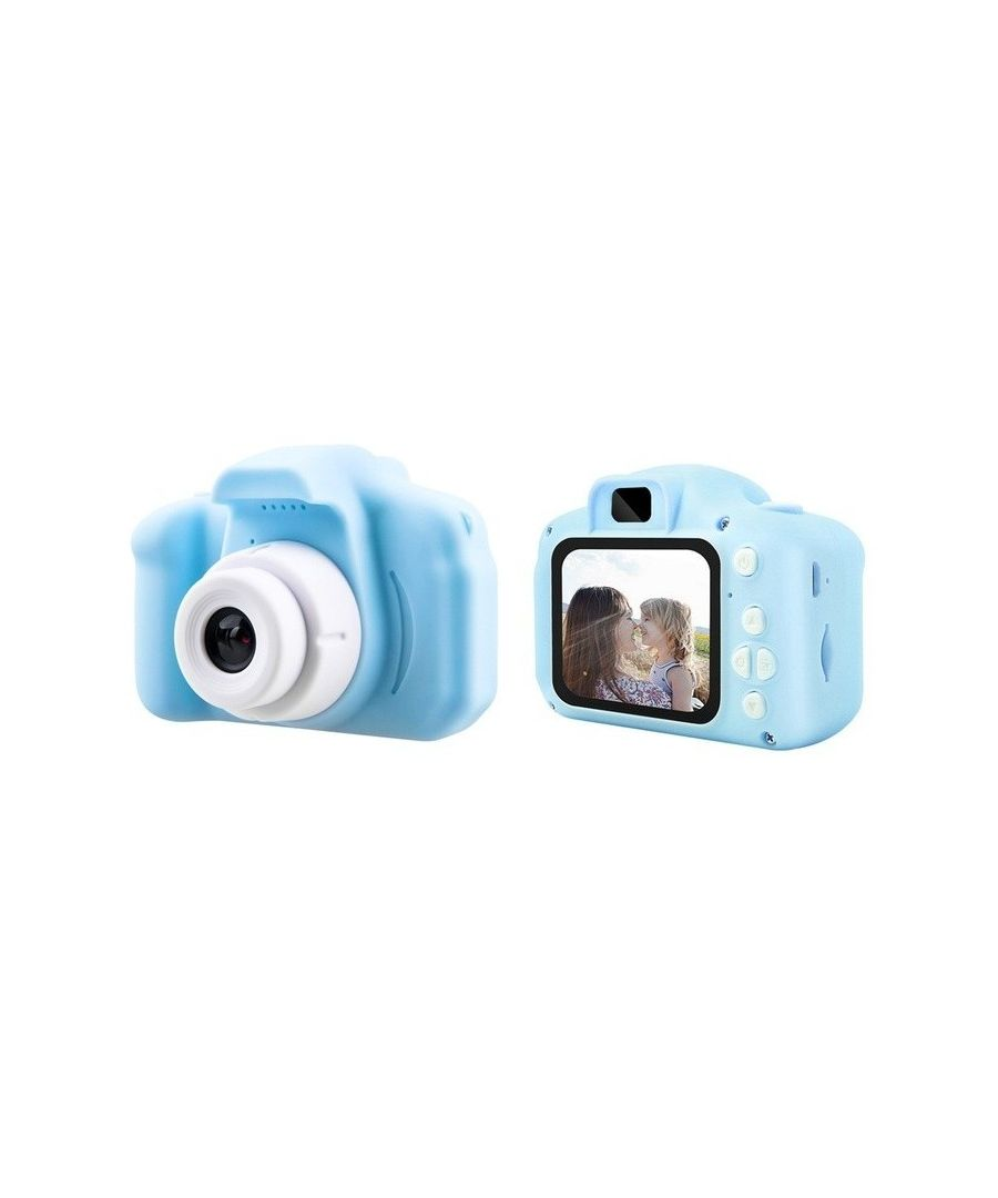 Image for LKS HD 1080p Kids Photo / Video Camera and Built-in Games, Azul