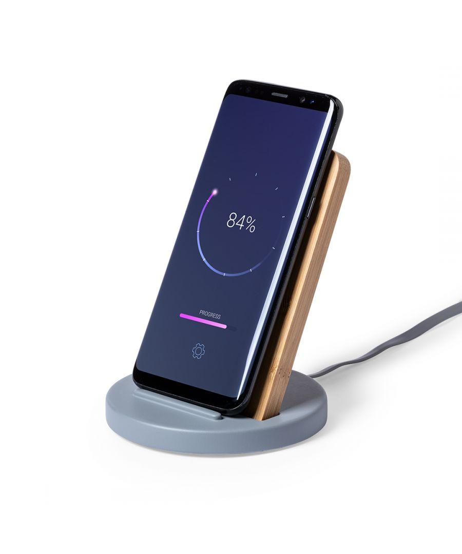 Image for Wireless charger with smartphone holder Smartek SMTK-6702
