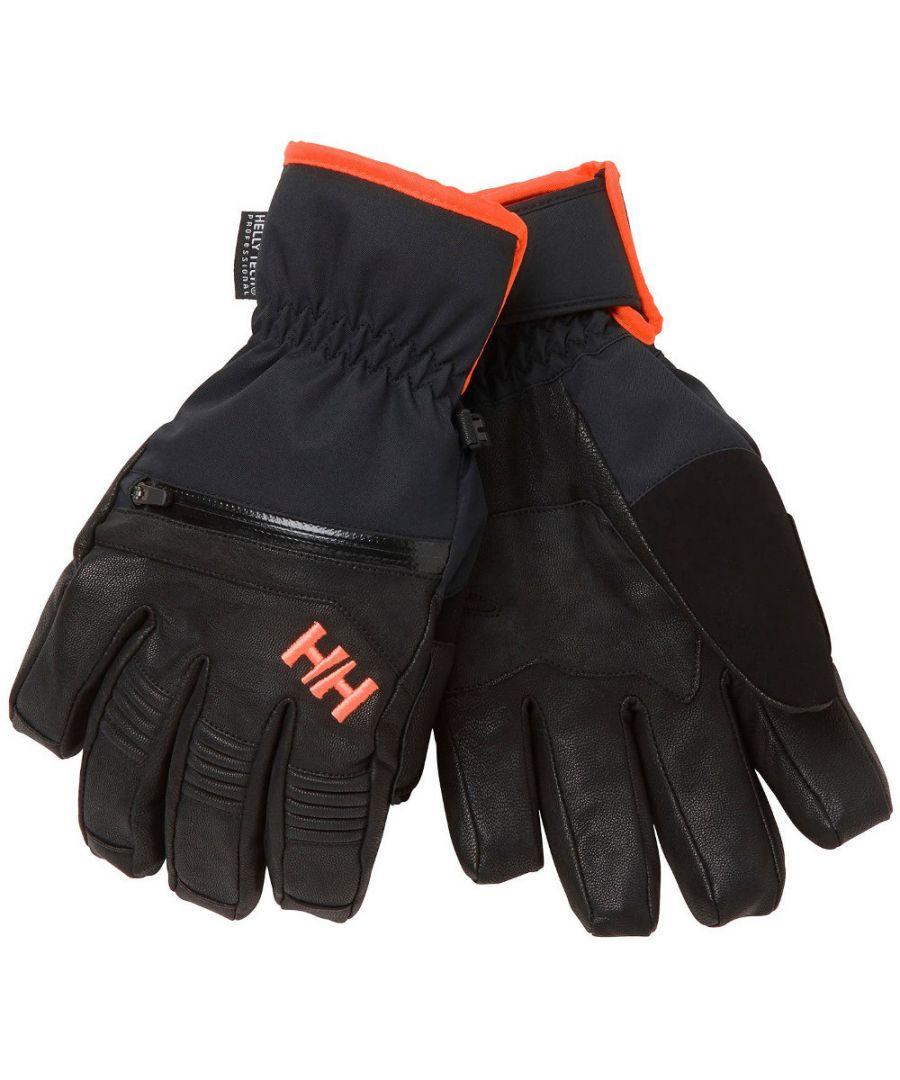Image for Helly Hansen Mens Alpha Warm HT Reinforced Winter Ski Gloves