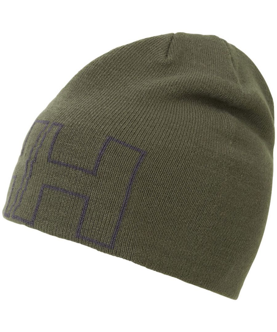 Image for Helly Hansen Mens Outline Circular Jersey Knit Beanie Cap Hat