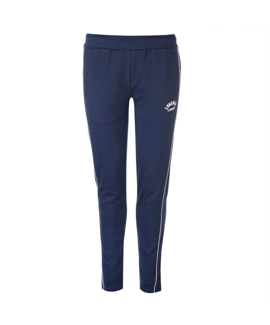 Image for Lonsdale Womens Ladies Il Jogging Bottoms Sport Trousers Tracking Pants