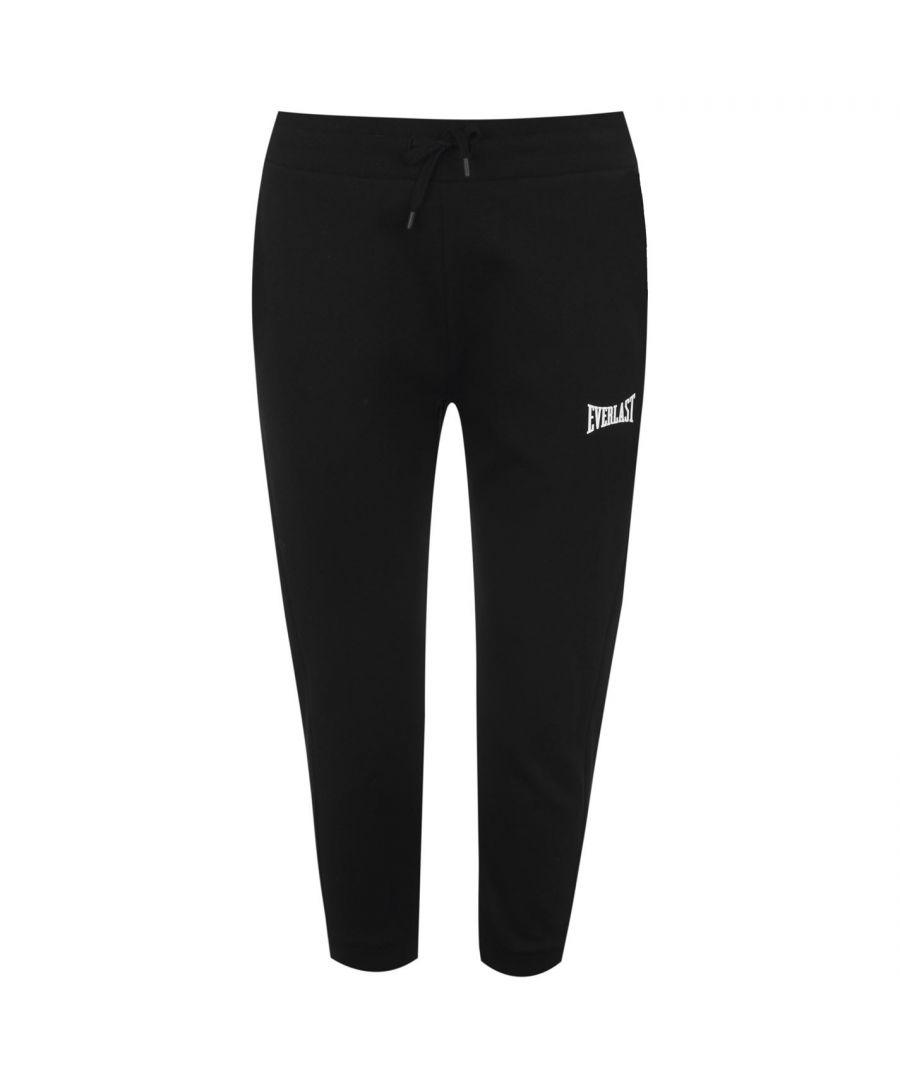 Image for Everlast Womens 3/4 Length Jogging Pant Lightweight Elasticated Waistband Bottom