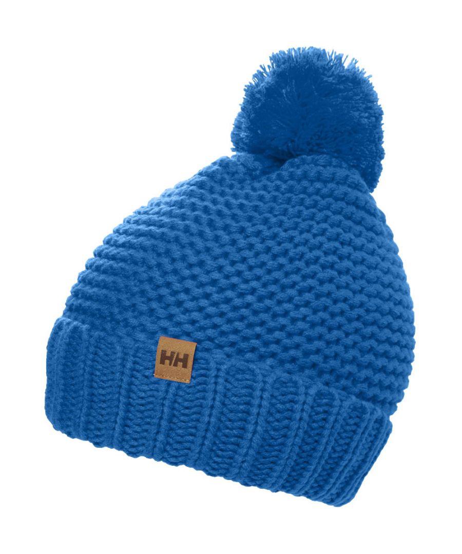 Image for Helly Hansen Womens Calgary Chunky Knit Pom Pom Beanie Hat