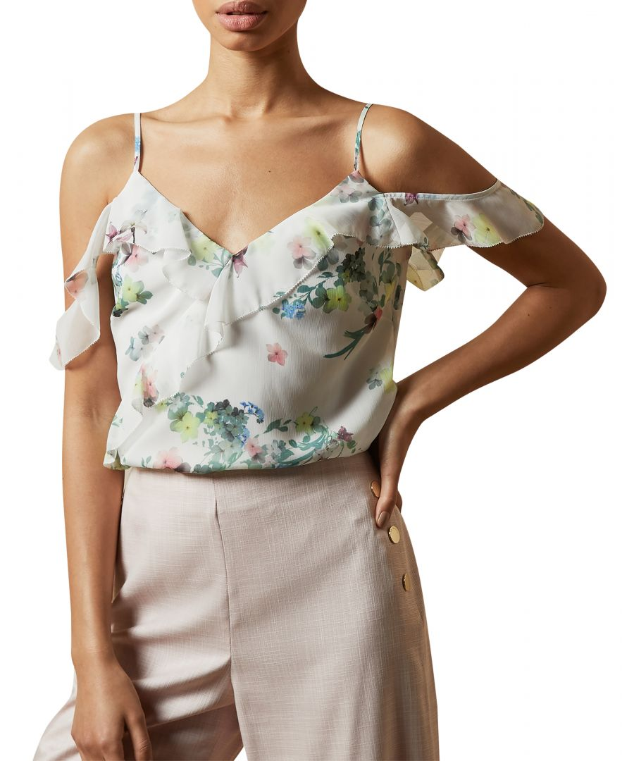 Image for Ted Baker Pergola Cami With Ruffle Detail