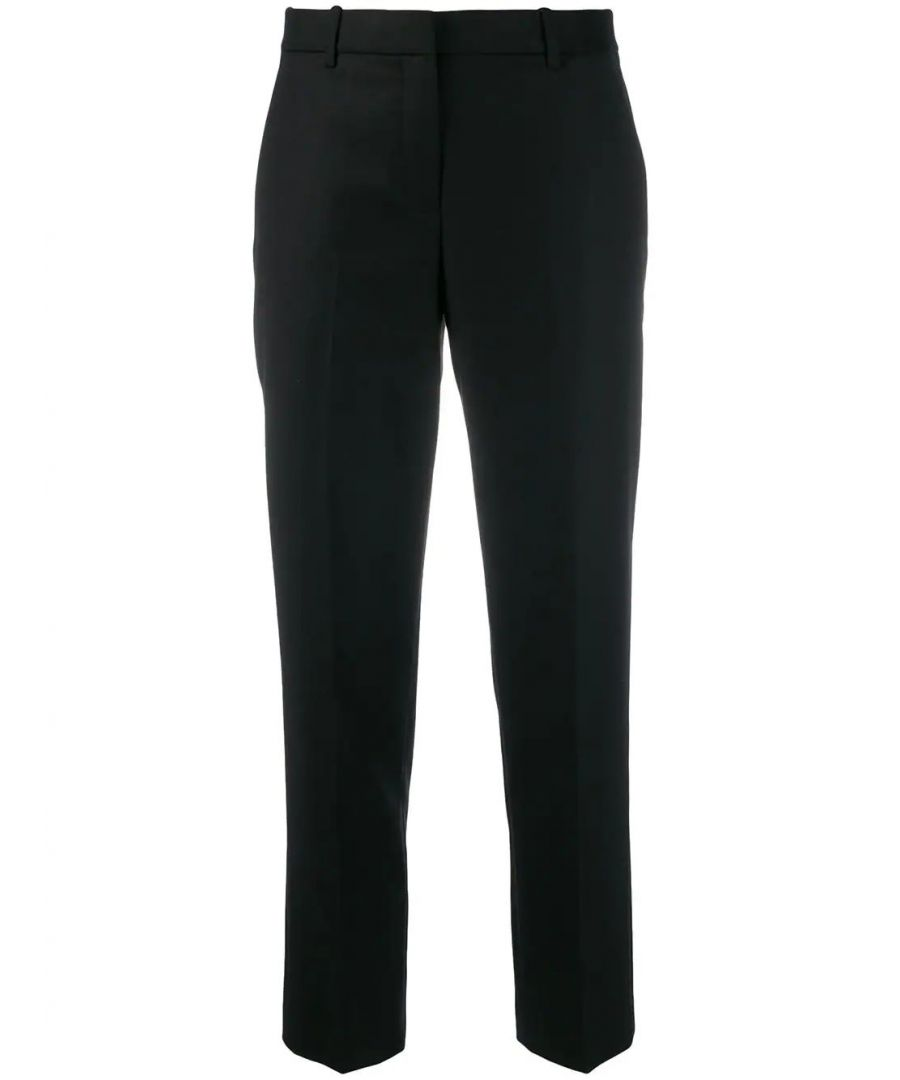 Image for THEORY WOMEN'S J0801203001 BLACK WOOL PANTS