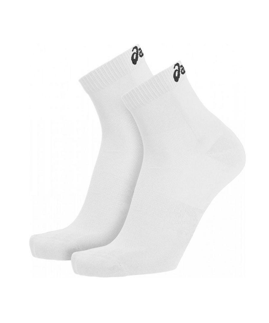 Image for Asics Sport Sock (2 Pack) White - UK 11-13
