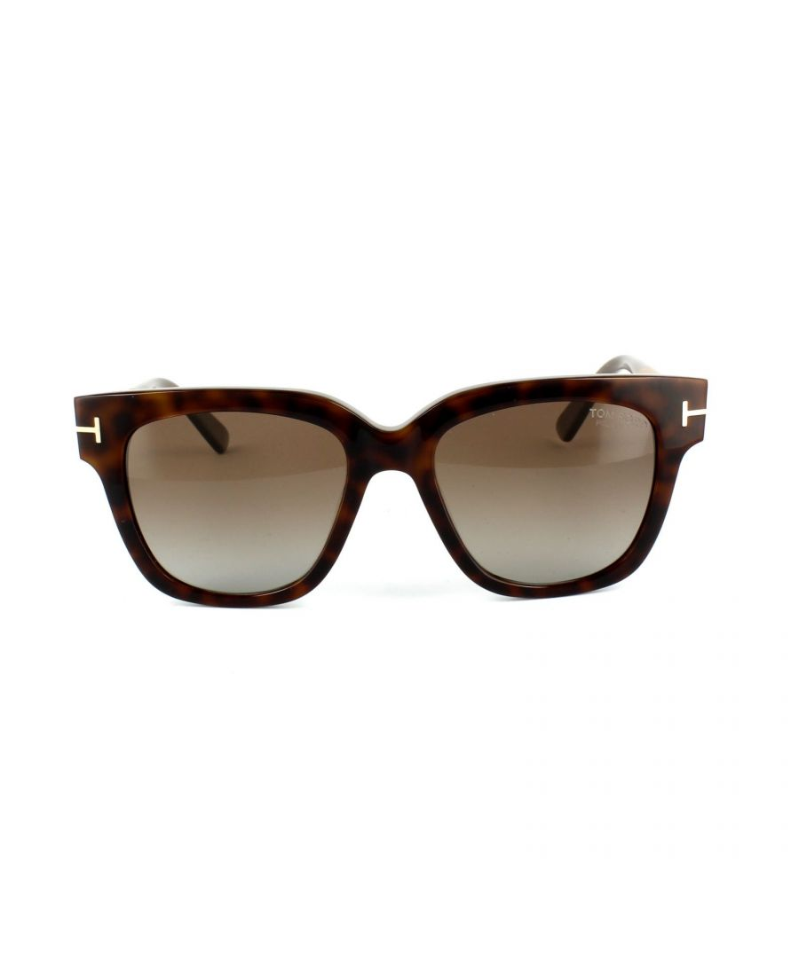 Image for Tom Ford Sunglasses 0436 TRACY 56H Havana Brown Polarized