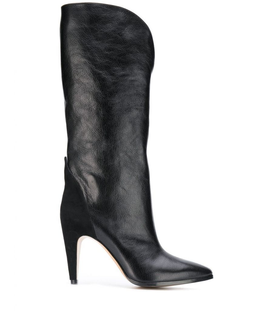 Image for GIVENCHY WOMEN'S BE700GE05L001 BLACK LEATHER BOOTS