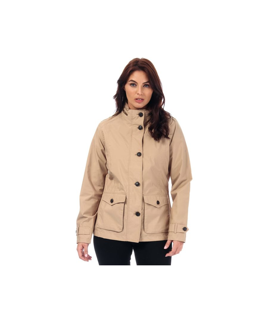 Image for Women's Timberland Short Parka Jacket in Sand