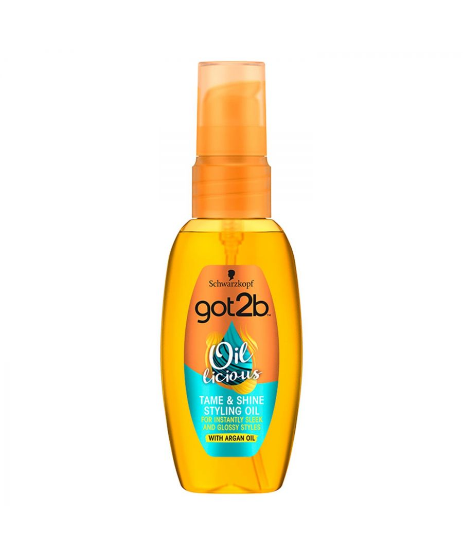 Image for Schwarzkopf got2b Oil-licious Tame & Shine Styling Oil 50ml