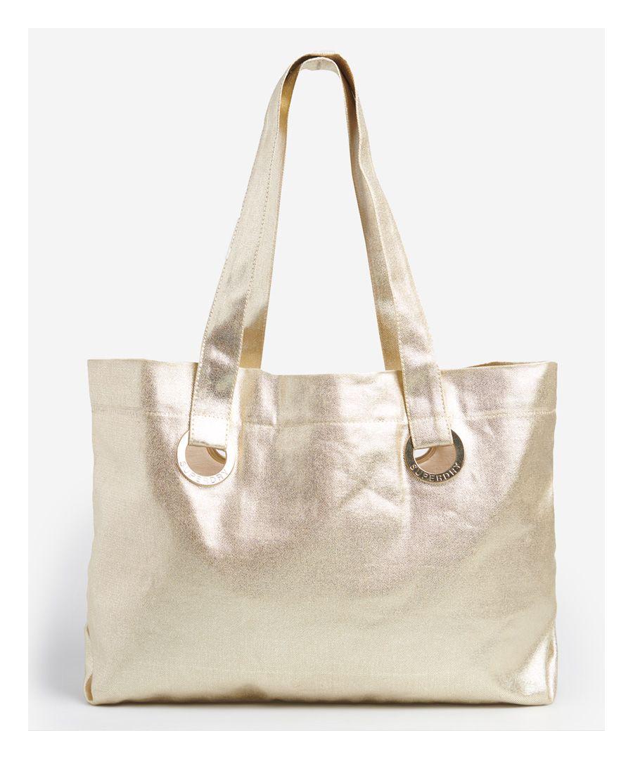 Image for Superdry Eyelet Tote Bag