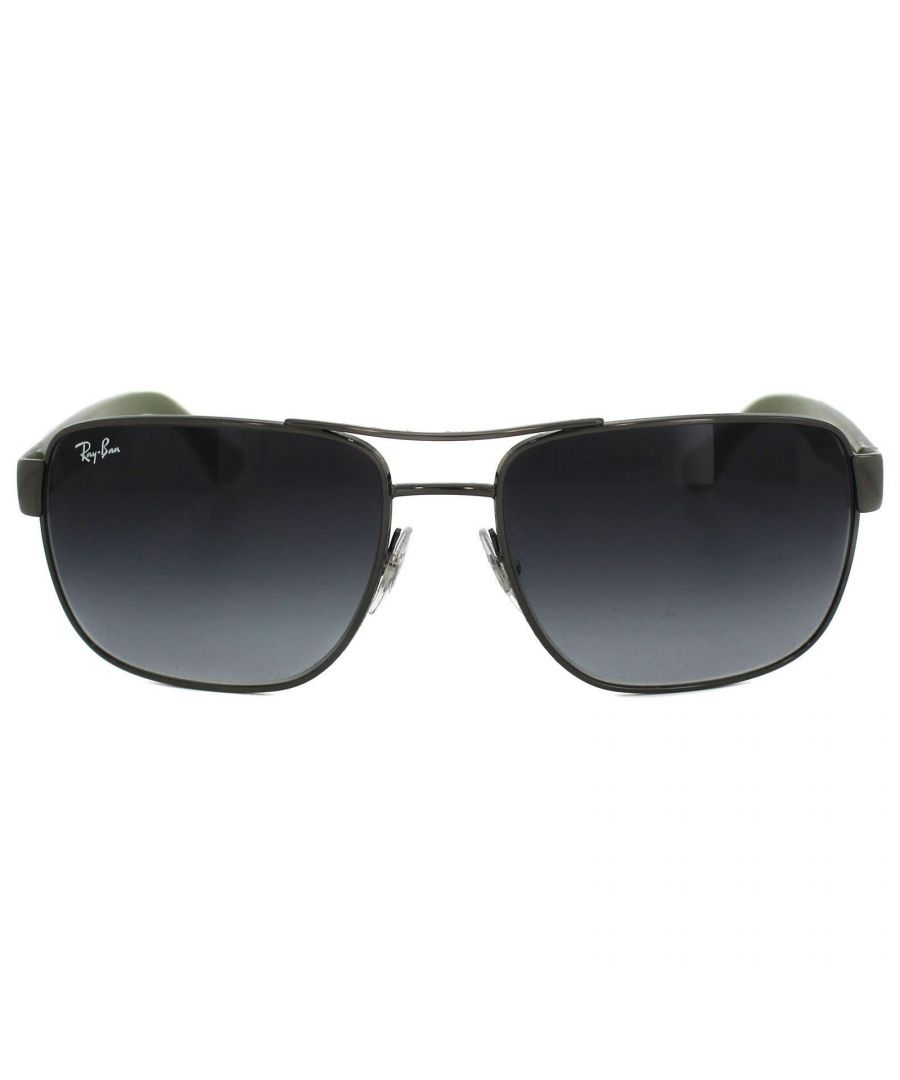 Image for Ray-Ban Sunglasses 3530 004/8G Gunmetal & Blue Grey Gradient