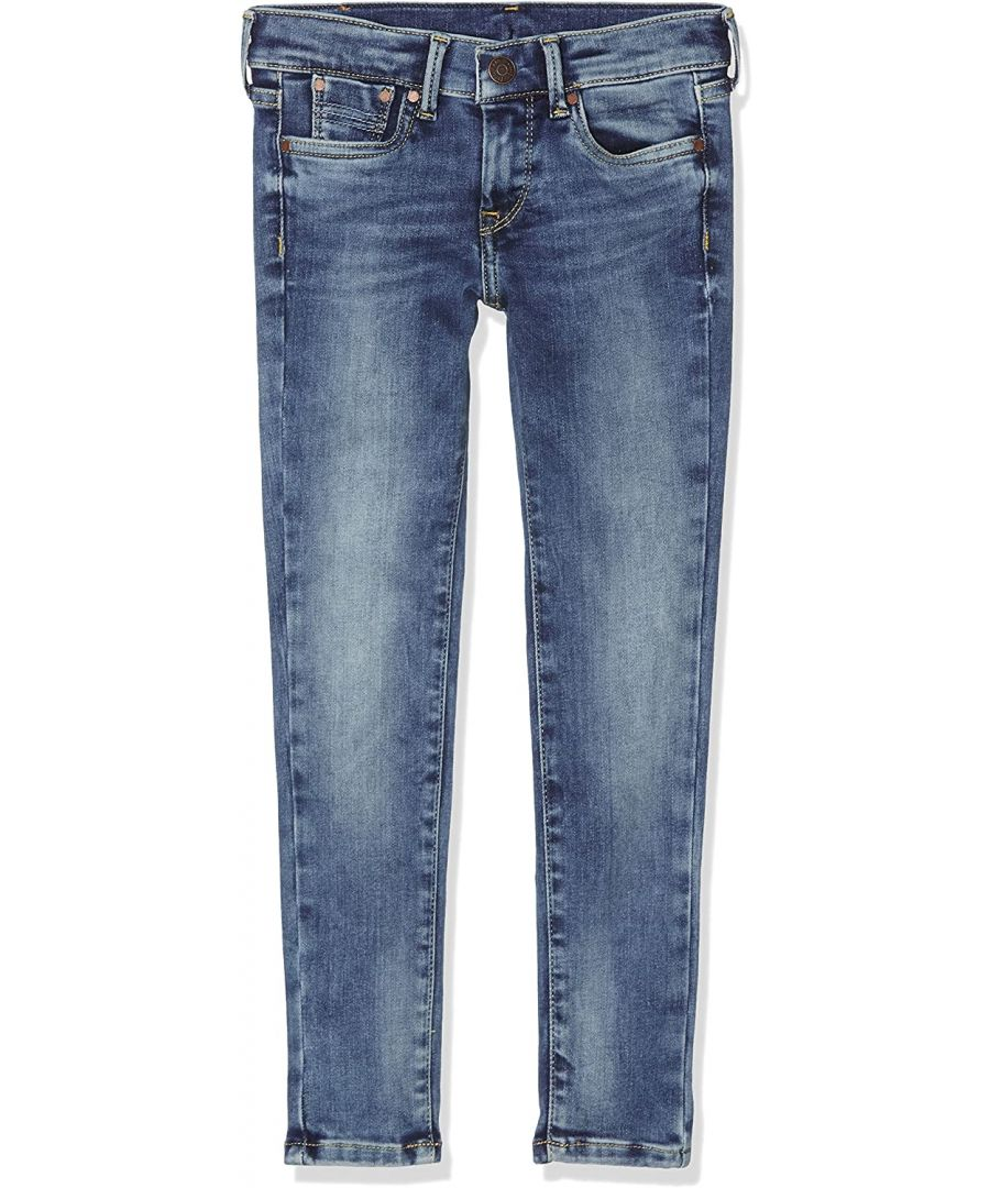 Image for Pepe Jeans Girls Skinny Jeans in Ash Blue