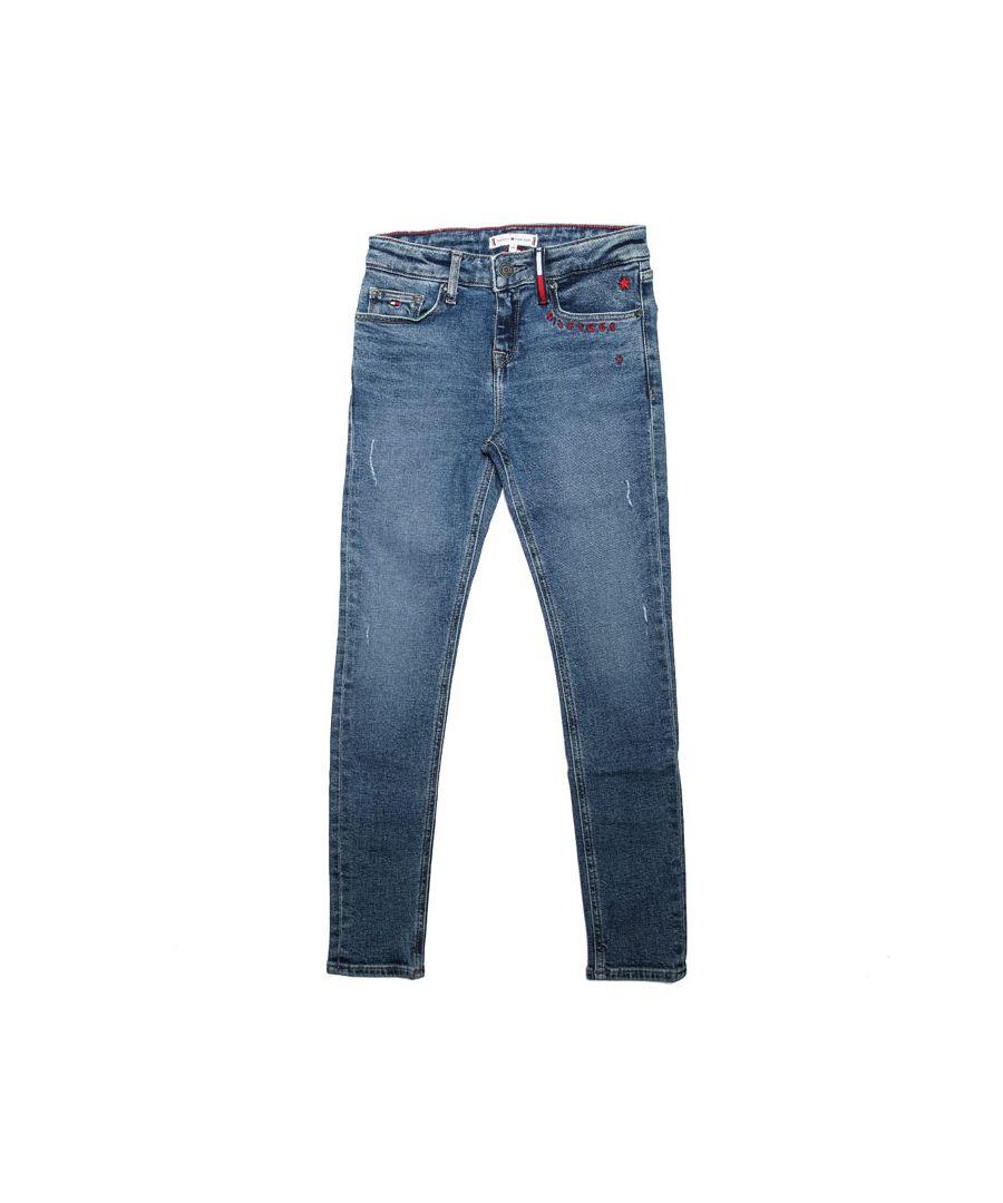 Image for Girls' Tommy Hilfiger Junior Nora Reg Skinny Jeans in Denim
