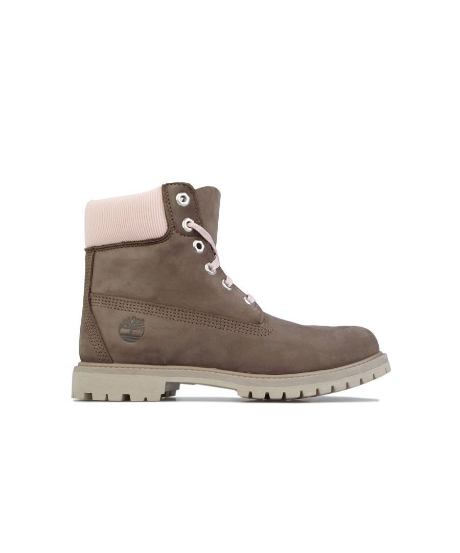 Image for Women's Timberland 6 Inch Premium Waterproof Boots in olive