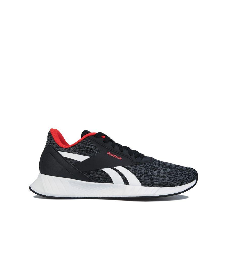 Image for Men's Reebok Lite Plus 2 Running Shoes in Black-White
