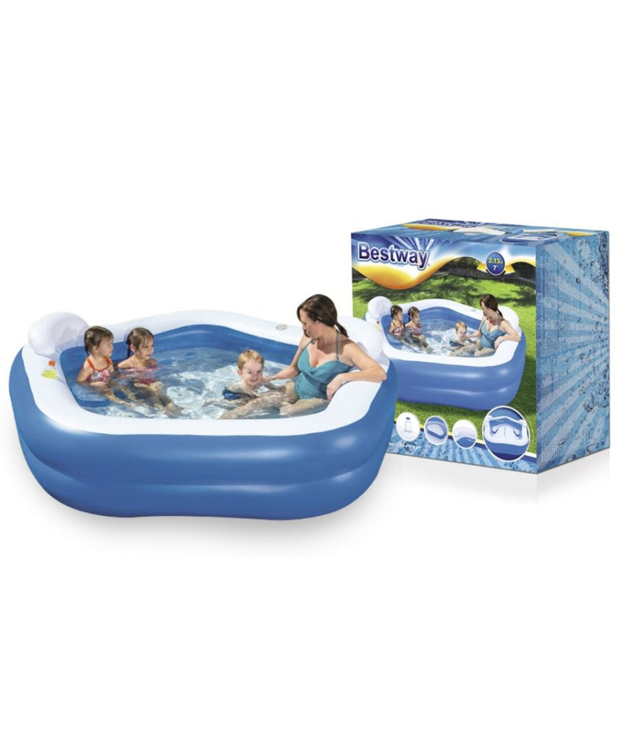 Image for Bestway Family Fun Lounge Pool