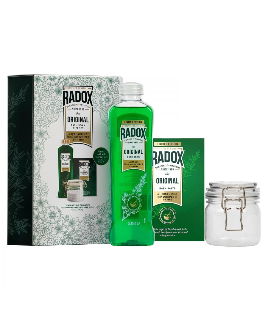 Image for Radox Original Bath Soak Gift Set