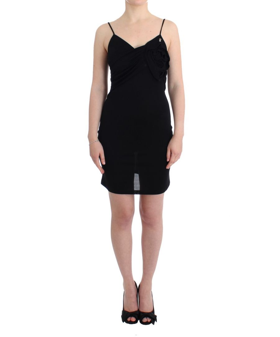 Image for Galliano Black coctail dress
