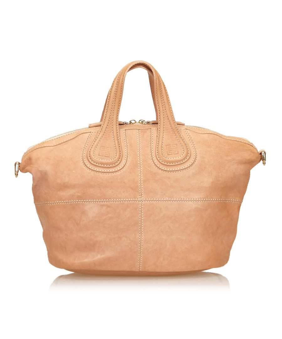 Image for Givenchy Leather Nightingale Brown