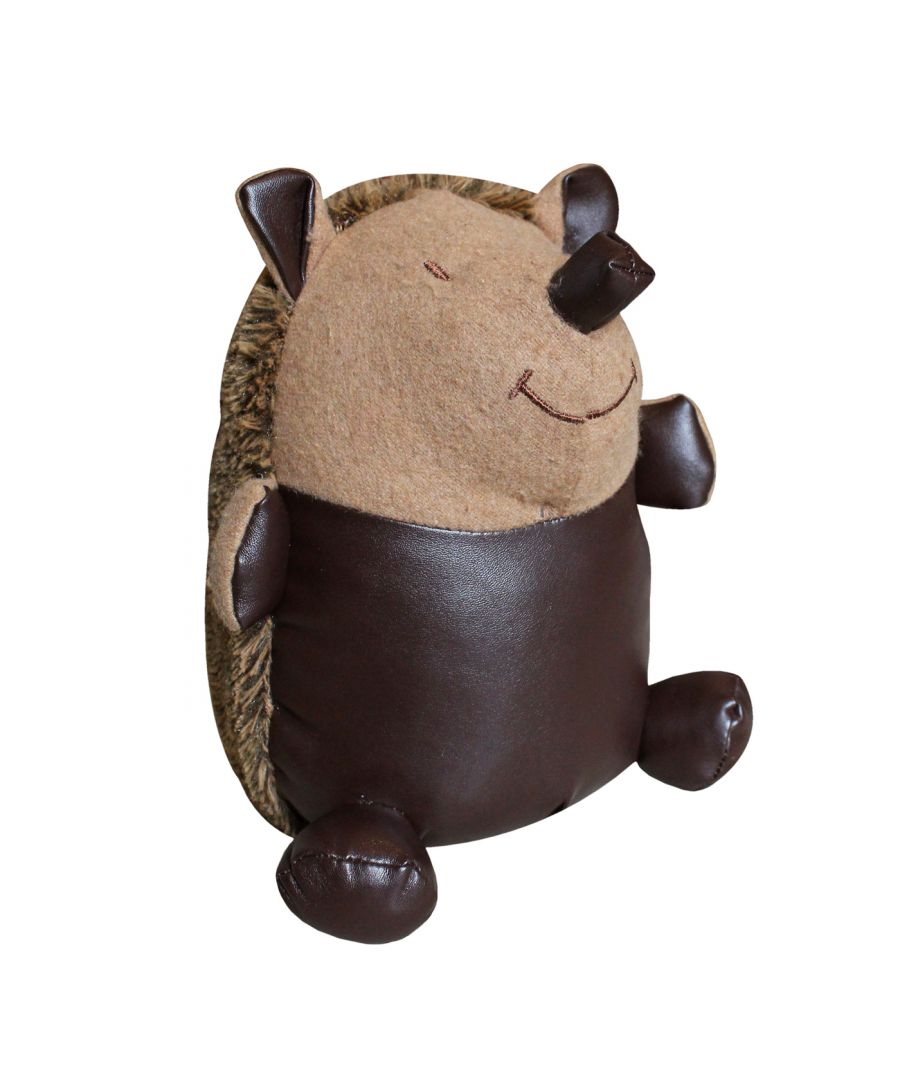 Image for Hedgehog Doorstop, Brown