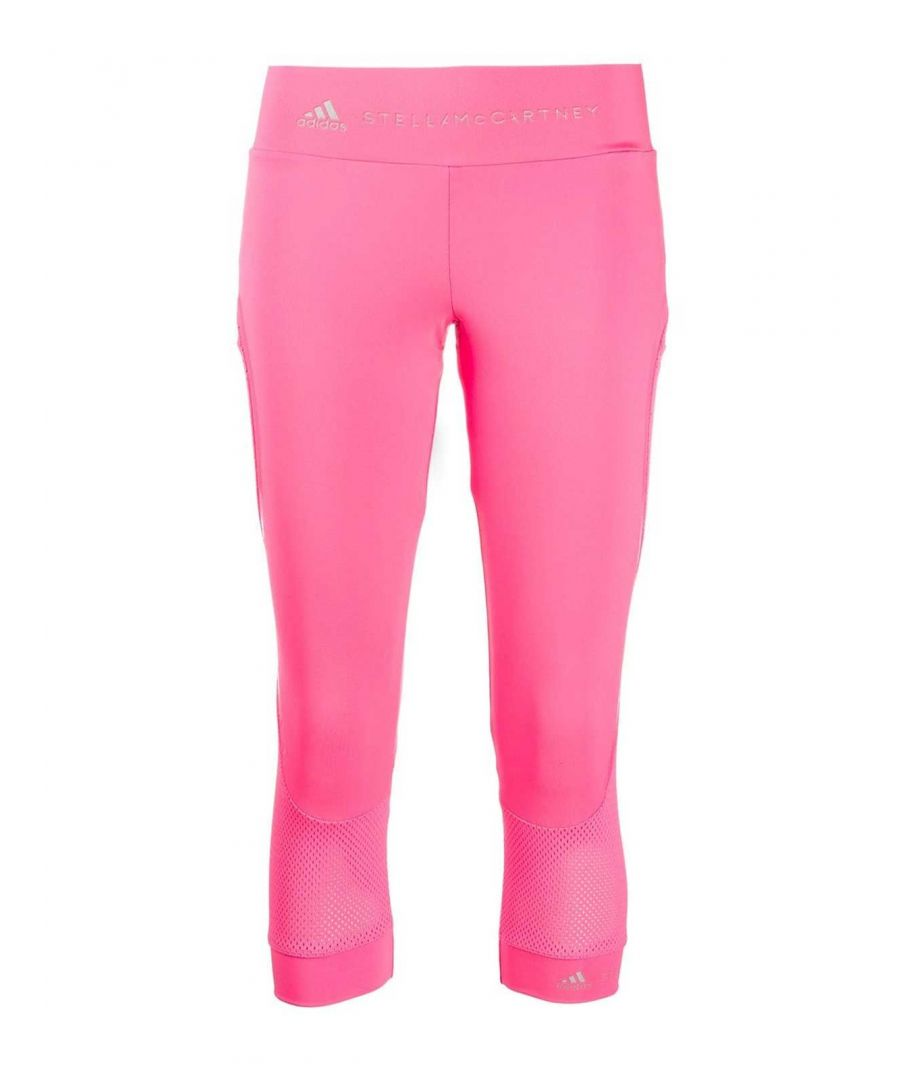 Image for ADIDAS BY STELLA MCCARTNEY WOMEN'S FS7579 PINK POLYESTER LEGGINGS
