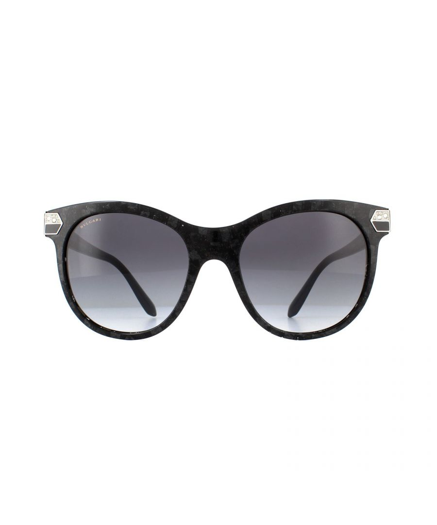 Image for Bvlgari Sunglasses BV8185B 54128G Black Marble Grey Gradient