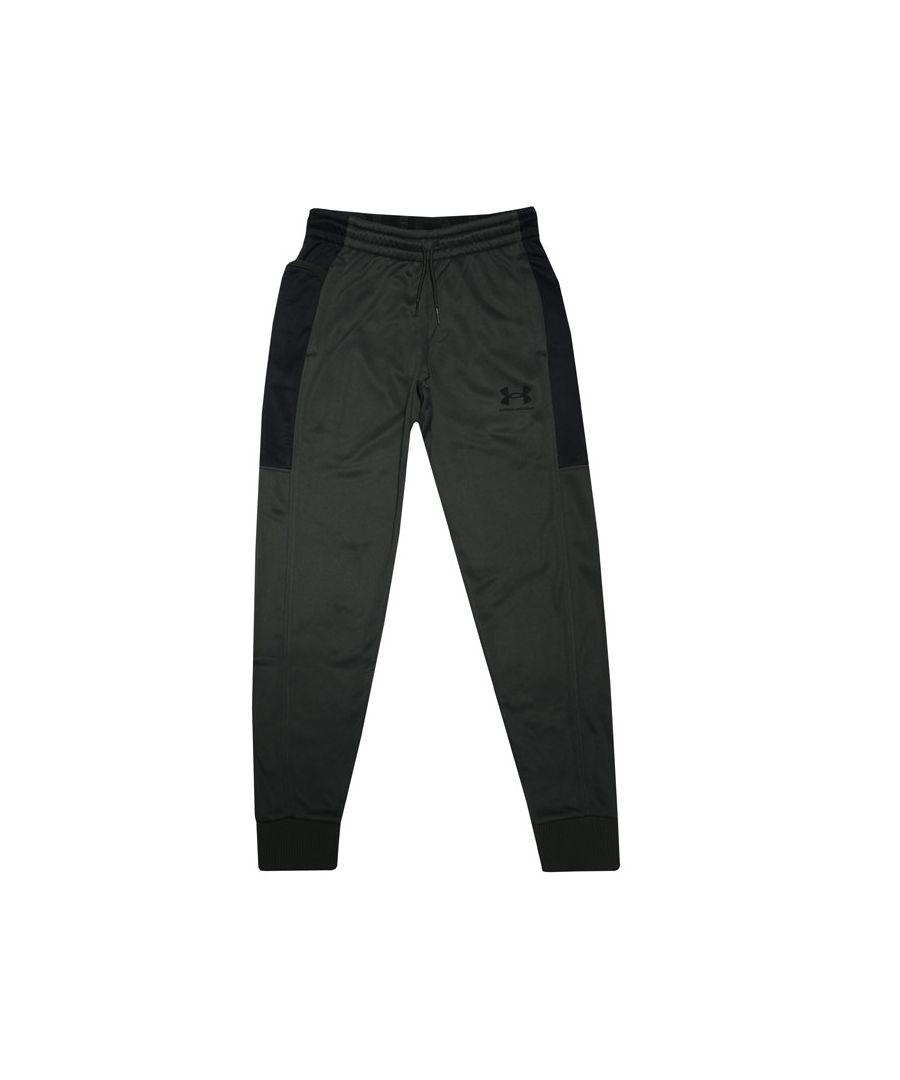 Image for Boys' Under Armour Junior Af Jog Pants In Green