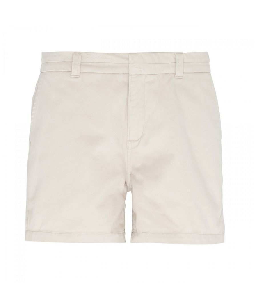 Image for Asquith & Fox Womens/Ladies Classic Fit Shorts (Natural)