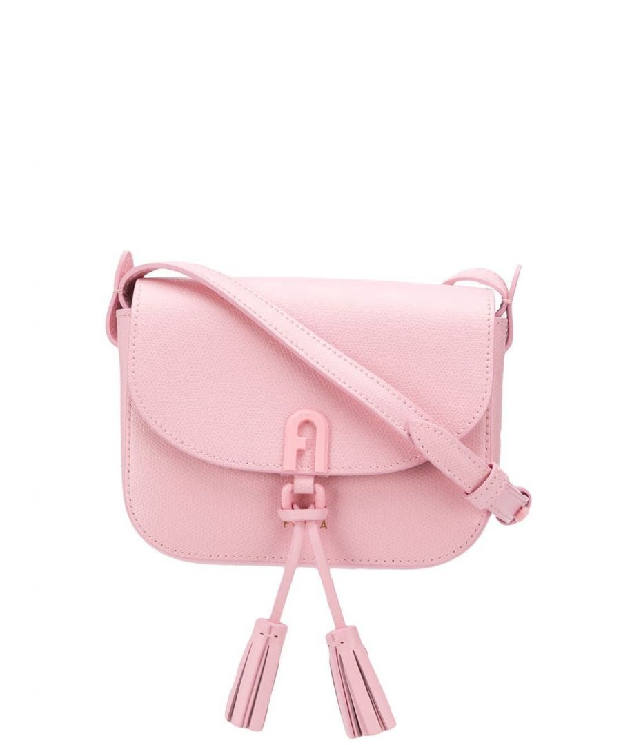Image for FURLA WOMEN'S 1065194 PINK LEATHER SHOULDER BAG