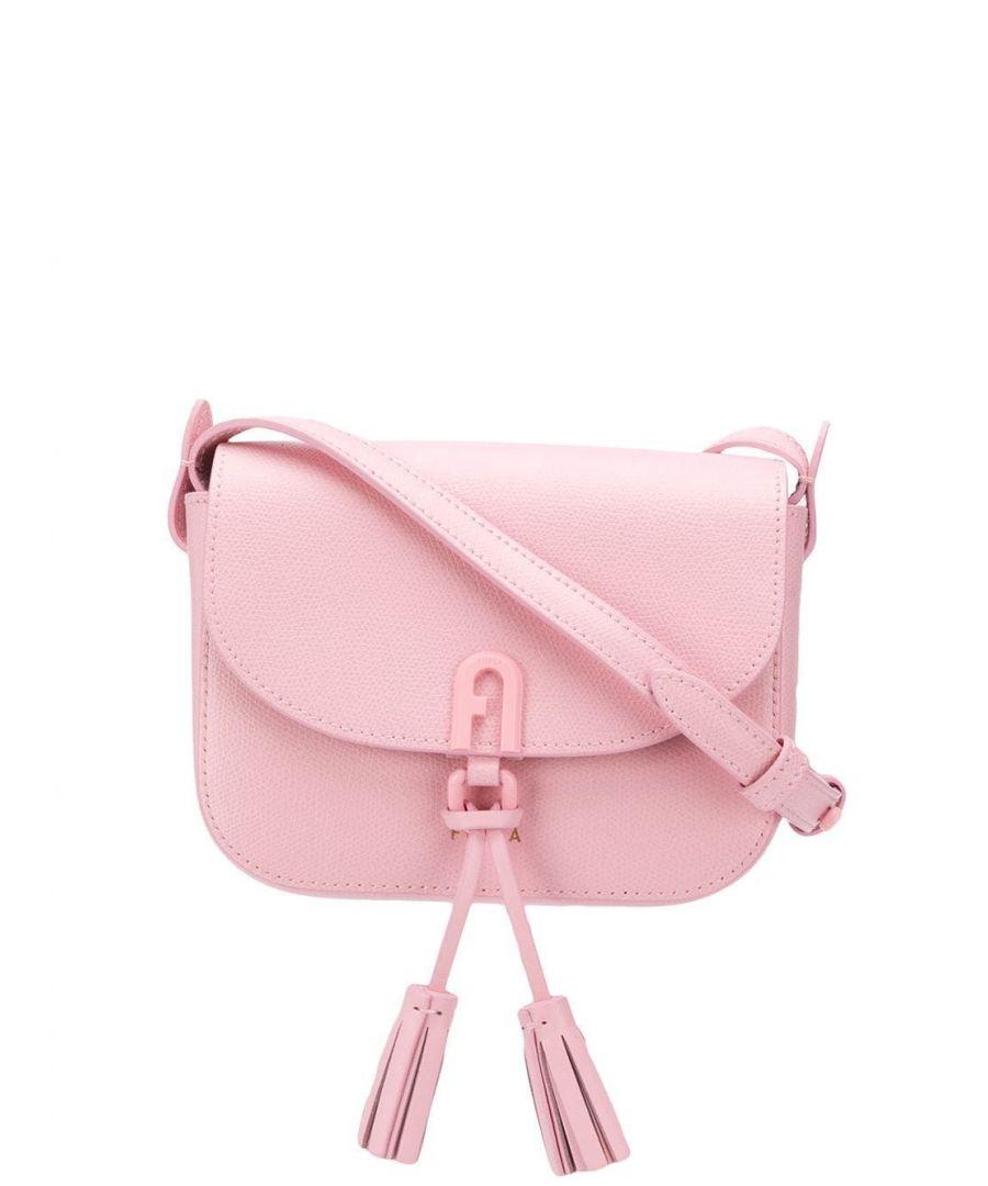Image for FURLA WOMEN'S 1065194 PINK LEATHER SHOULDER BAG