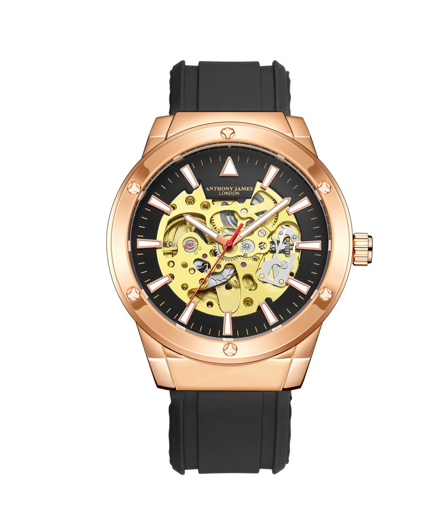 Image for Hand Assembled Anthony James Limited Edition Expedite Automatic Rose
