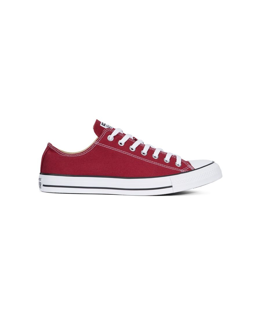 Image for Converse All Star Unisex Chuck Taylor Low Top - Maroon