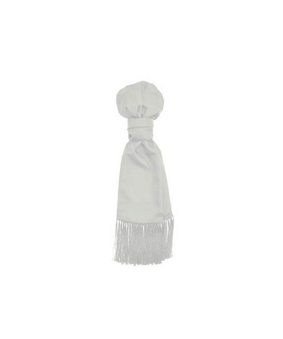 Image for Men's Hackett, H Knott Silk Evening Scarf in White