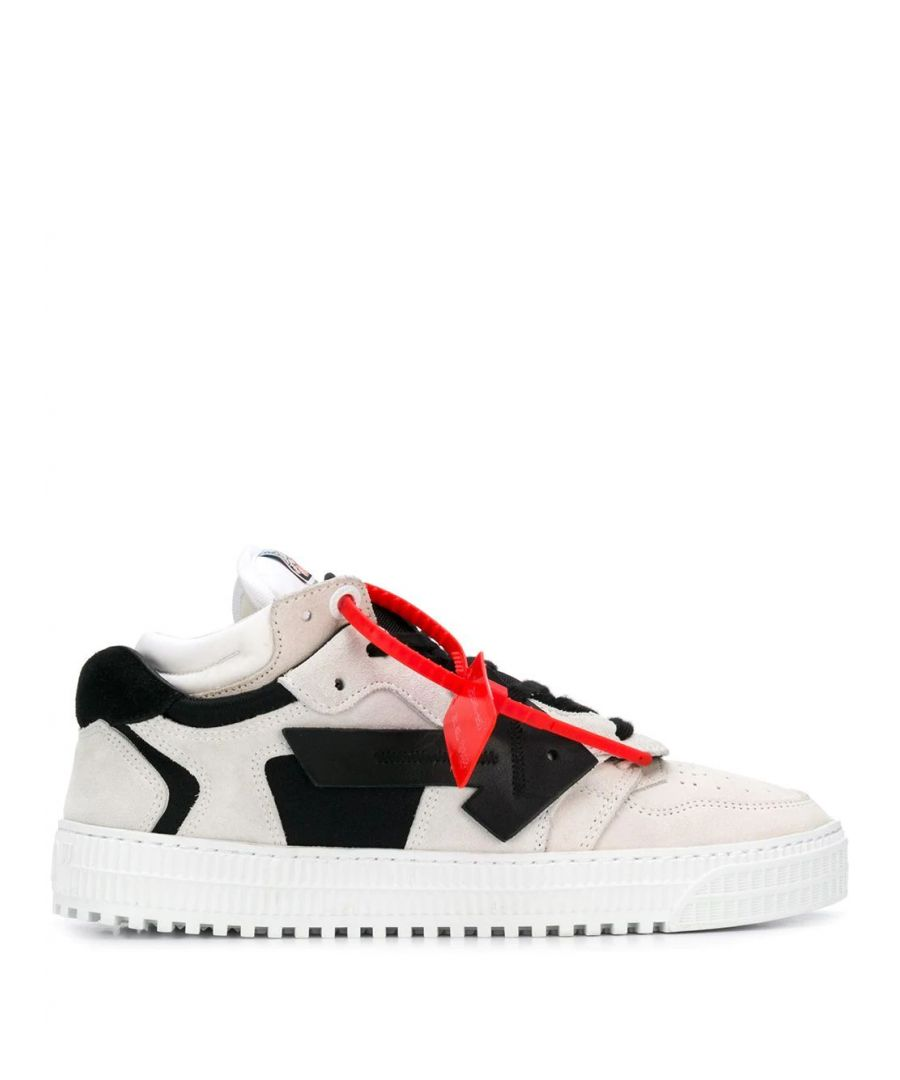 Image for OFF-WHITE WOMEN'S OWIA181F19D800770210 WHITE LEATHER SNEAKERS