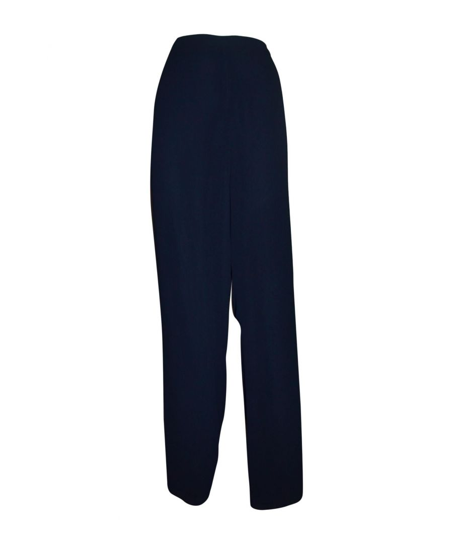 Image for TWENTY EASY BY KAOS WOMEN'S 23064BLUE BLUE POLYESTER PANTS