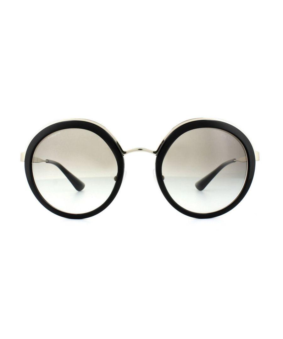 Image for Prada Sunglasses 50TS 1AB0A7 Black Grey Gradient