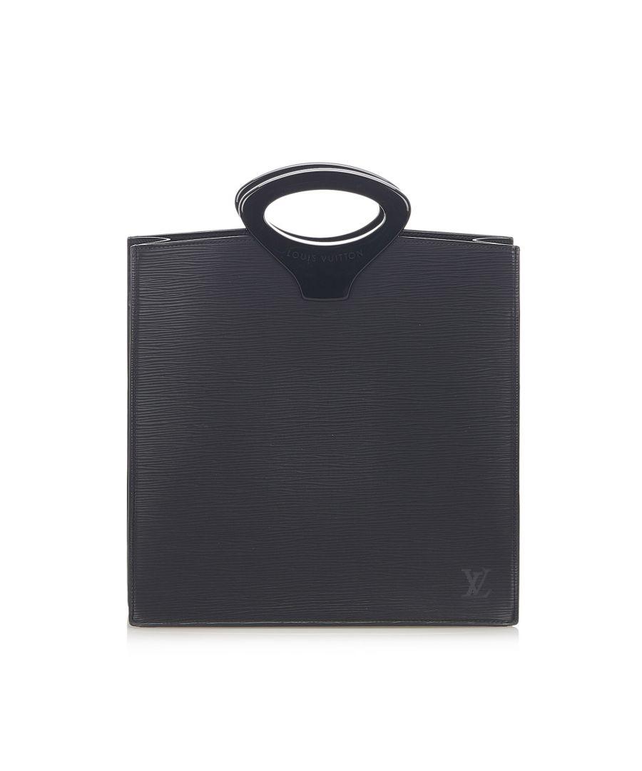 Image for Vintage Louis Vuitton Epi Ombre Black