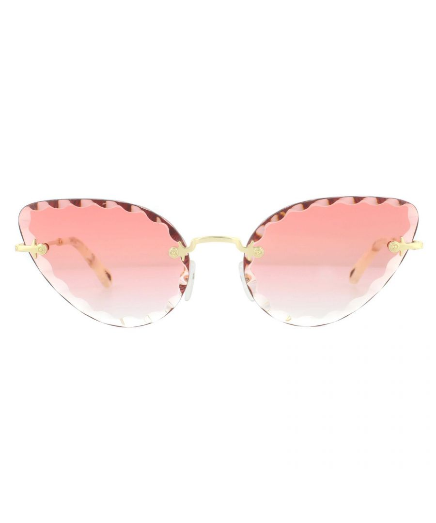 Image for Chloe Sunglasses CE157S 823 Gold Coral Gradient