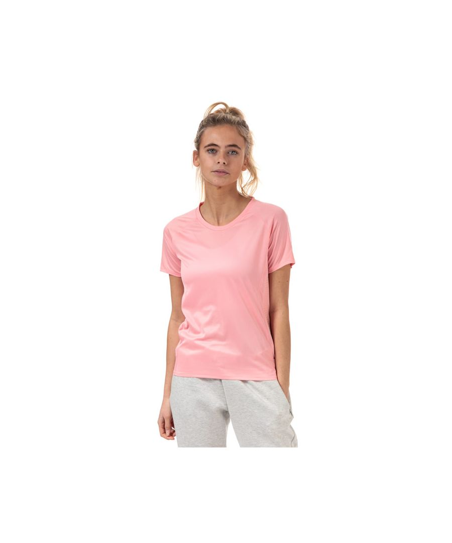 Image for Women's adidas 25/7 Rise Up N Run Parley T-Shirt in Pink