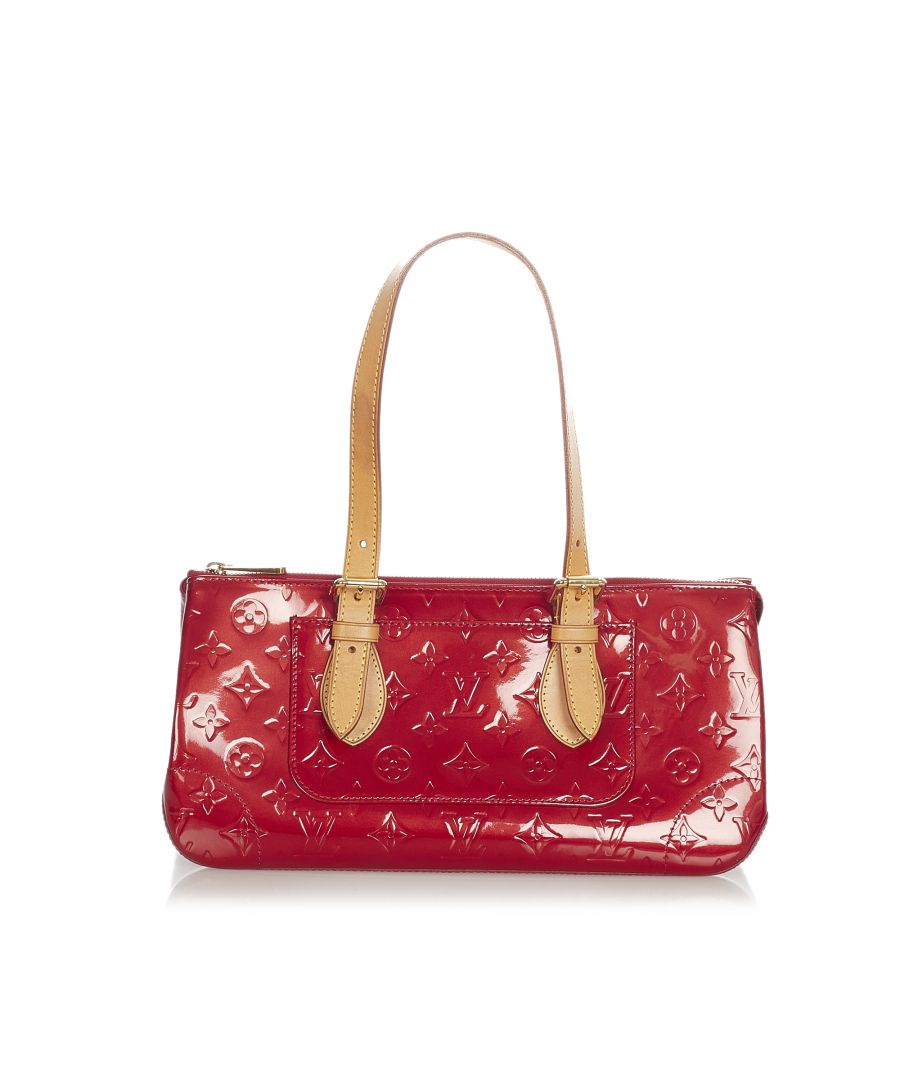 Image for Vintage Louis Vuitton Vernis Rosewood Red