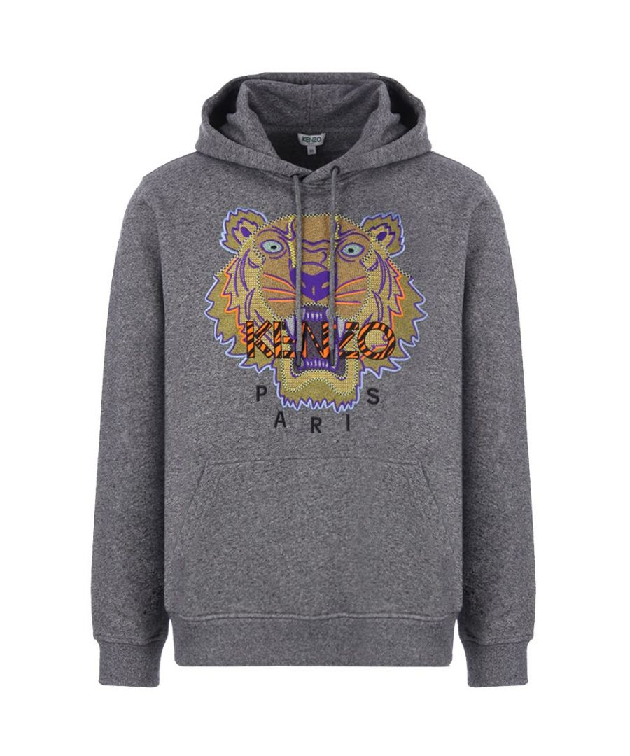 Image for KENZO MEN'S F965SW4184XK98 GREY COTTON SWEATSHIRT