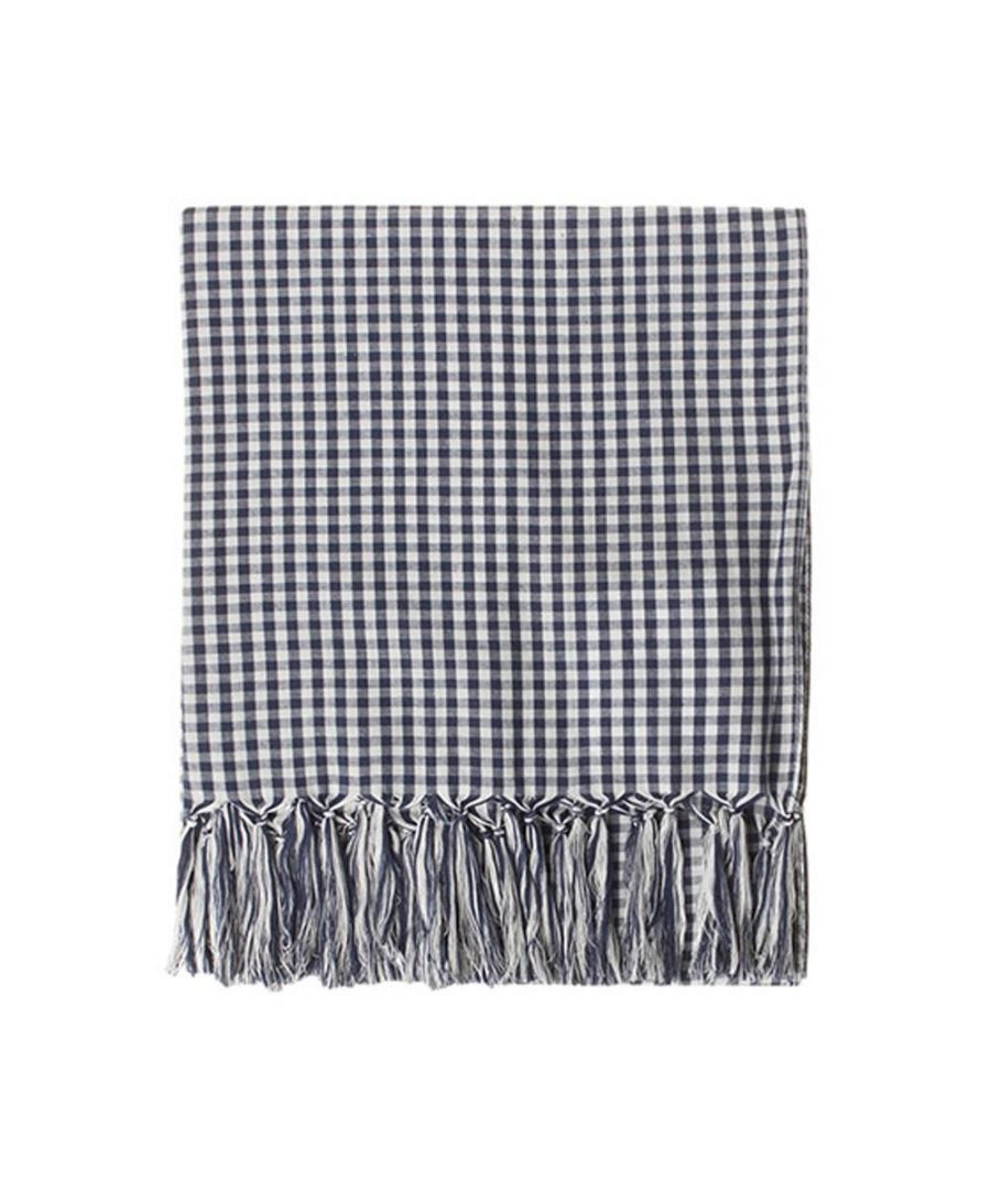 Image for Men's Hackett, Check Small Scarf in Black
