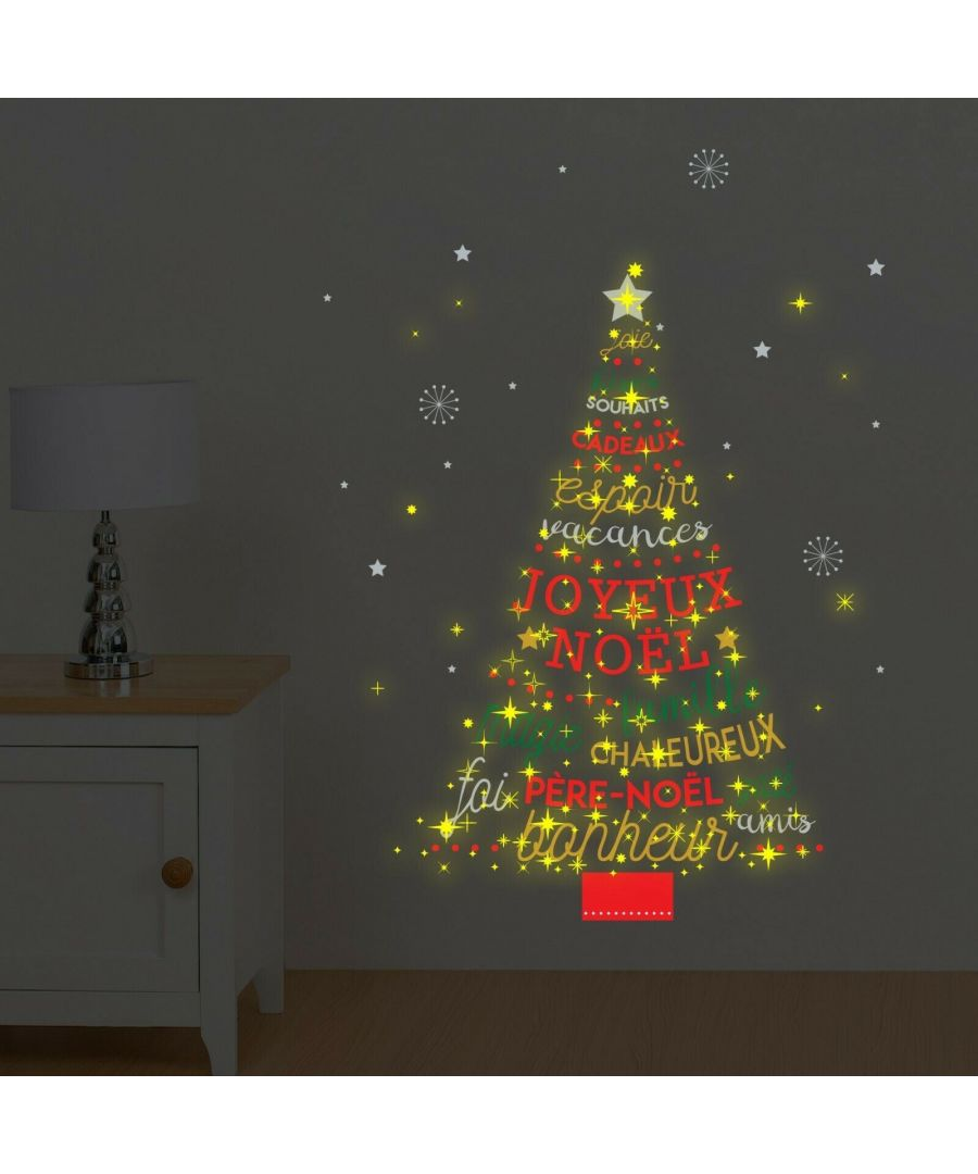 Image for COM - WS4027 - French Quote Christmas Tree + WS3036 - Moon & Stars Glow
