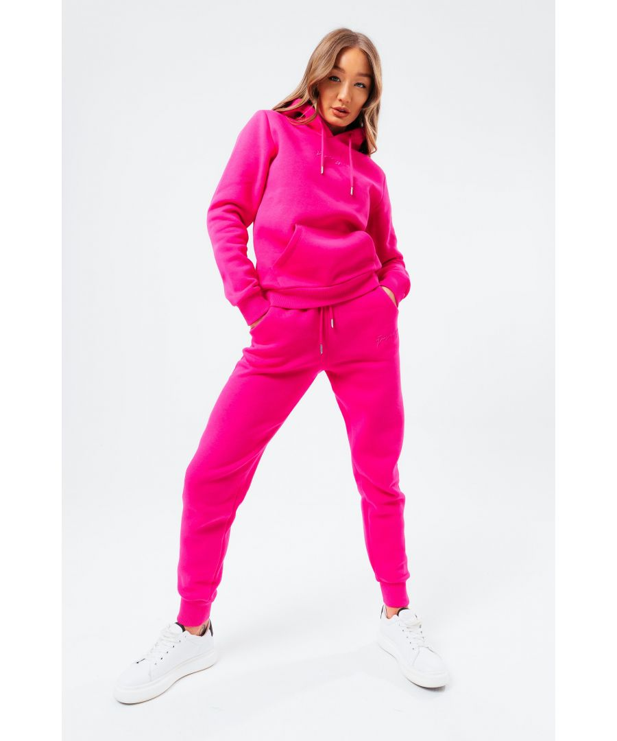 Image for Hype Fuchsia Scribble Womens Tracksuit